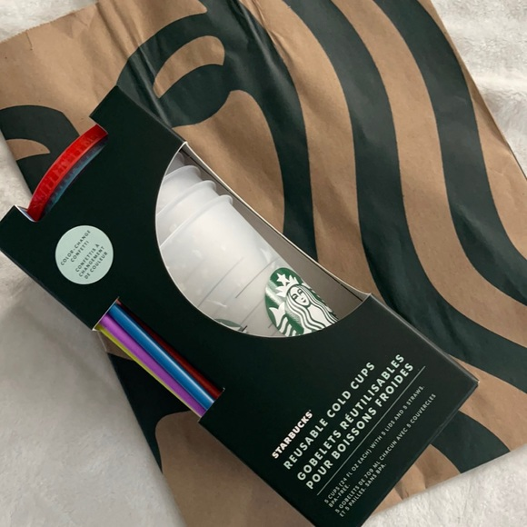 Starbucks Color Changing Cups X 5